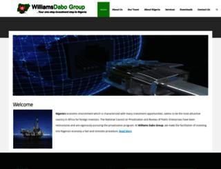 williamsdabogroup.com screenshot