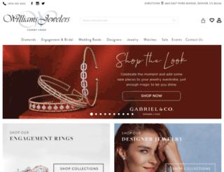 williamsjewelers.net screenshot