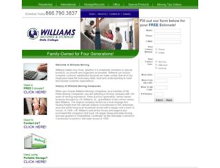 williamsmoving.biz screenshot