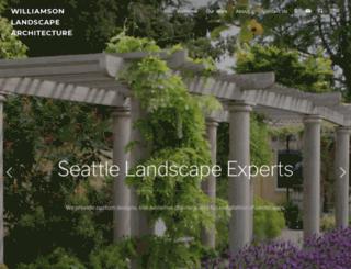 williamsonlandscape.com screenshot