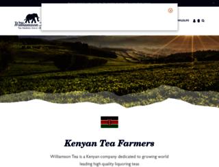 williamsontea.com screenshot