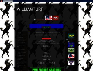 williamturf.blogspot.com screenshot