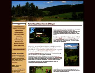 willingen-ferienhaus.com screenshot