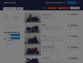 willinger.otomoto.pl screenshot