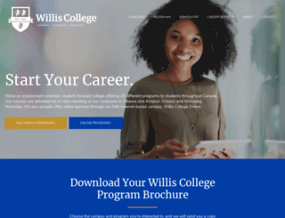 williscollege.com screenshot