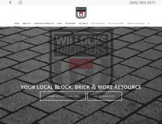 willocksbrothers.com screenshot