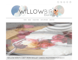 willowbirdbaking.wordpress.com screenshot