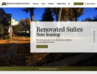 willowgreenestates.com screenshot