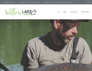 willowlakefrance.co.uk screenshot