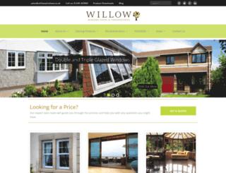 willowwindows.co.uk screenshot