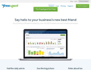 willroman.freeagent.com screenshot