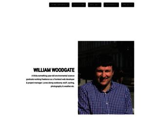 willwoodgate.com screenshot