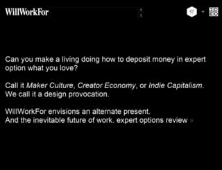 willworkfor.org screenshot
