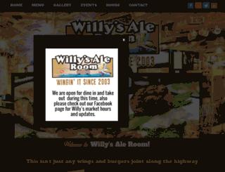 willysaleroom.com screenshot