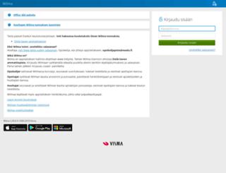 wilma.esedu.fi screenshot