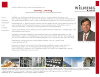 wilming-consulting.de screenshot