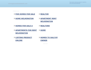 wilmingtonrealestatedeals.com screenshot