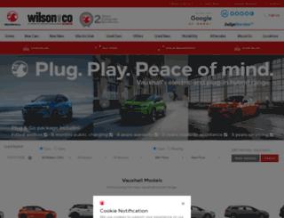 wilsonandcogroup.co.uk screenshot