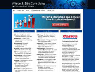 wilsonellisconsulting.com screenshot