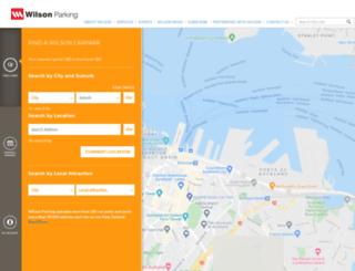 wilsonparking.co.nz screenshot
