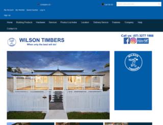 wilsontimbers.com screenshot