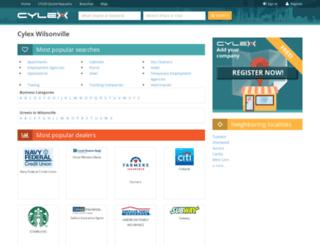 wilsonville.cylex-usa.com screenshot