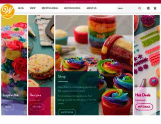 wilton.com screenshot