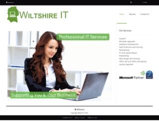 wiltshireit.co.uk screenshot