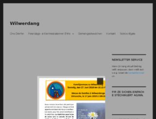 wilwerdange.eu screenshot