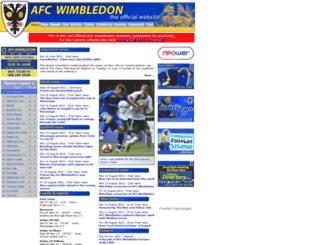 wimbledonheritage.co.uk screenshot