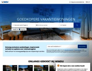 wimdu.nl screenshot