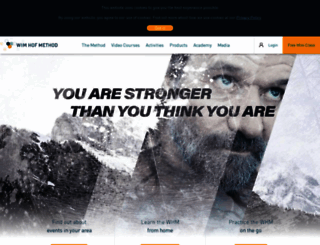 wimhofmethod.com screenshot