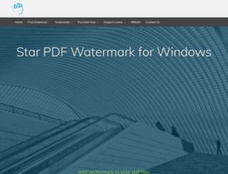 win-pdf-watermark.star-watermark.com screenshot