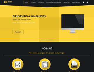 win-survey.com screenshot