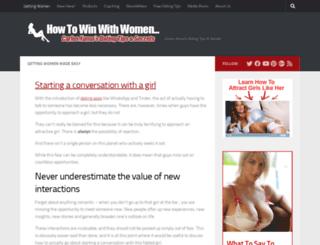 win-with-women.com screenshot