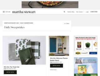 win.marthastewart.com screenshot