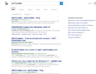 win7codes.com screenshot