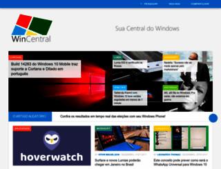 wincentral.com.br screenshot