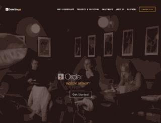 winchellsdonuts.ordersnapp.com screenshot