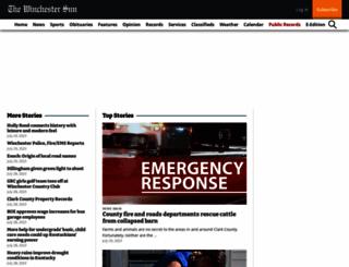 winchestersun.com screenshot