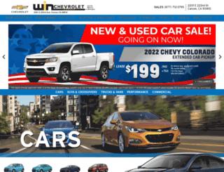 winchevrolet.com screenshot