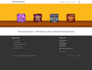 wincreststudios.com screenshot