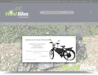 windbikes.com.br screenshot