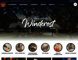windcrest-tx.com screenshot