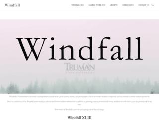 windfall.truman.edu screenshot