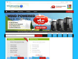 windhosting.net screenshot