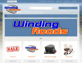 windingroads.co.uk screenshot