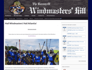 windmastershill.org screenshot