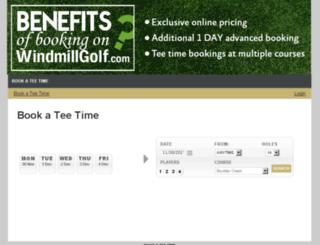windmill.totalegolf.com screenshot