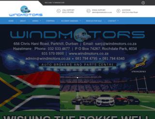 windmotors.co.za screenshot